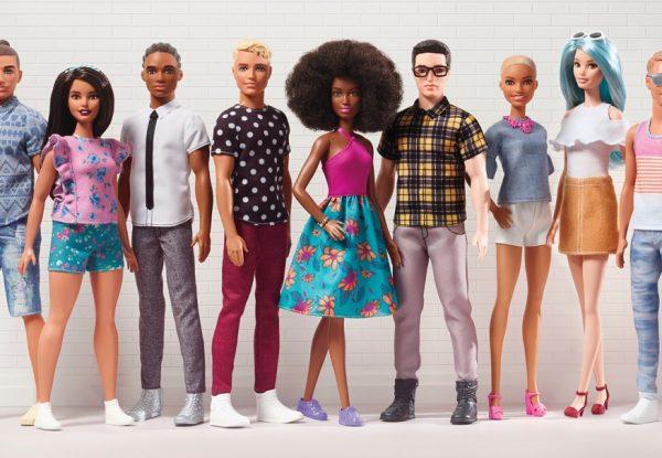 Nowe sylwetki Kena od Barbie®Fashionistas!