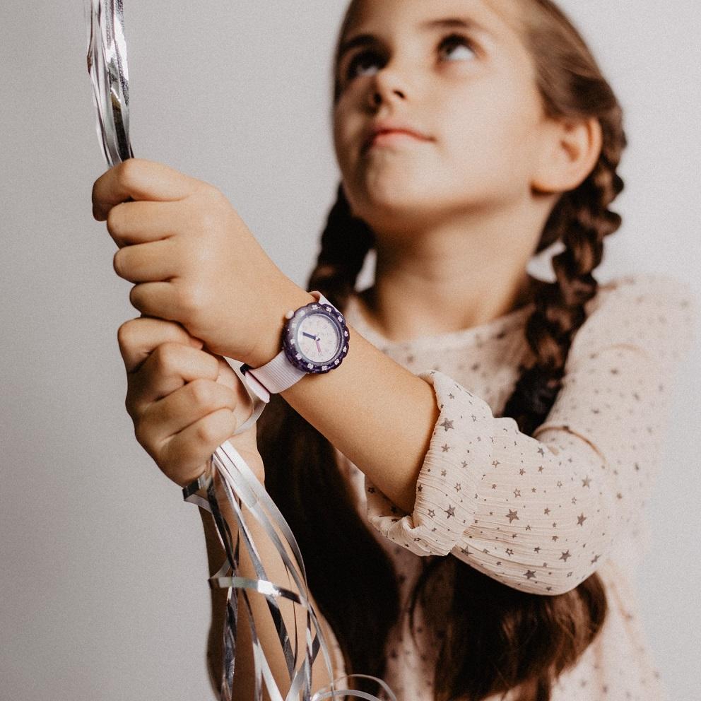 dziewczęcy zegarek