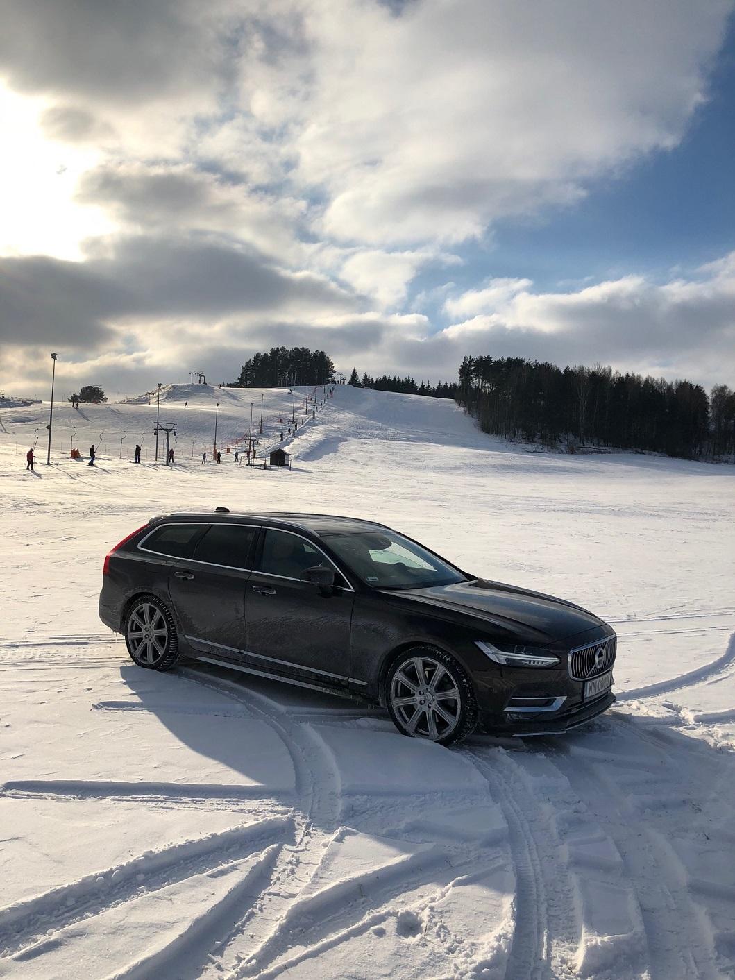 auto na narty