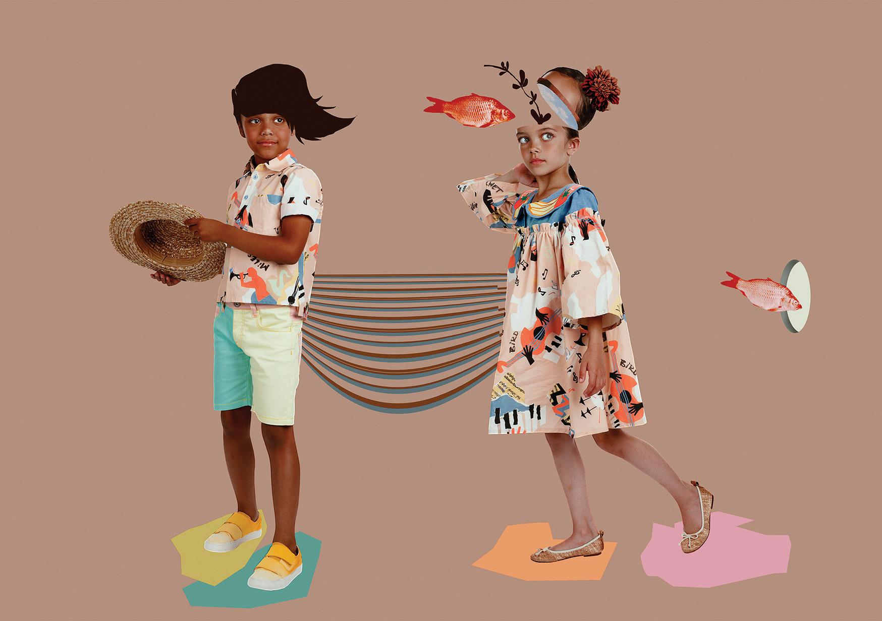 graphic kids fashion