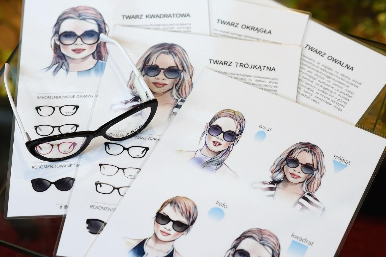 wybór okularów