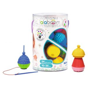 klocki sensoryczne Lalaboom