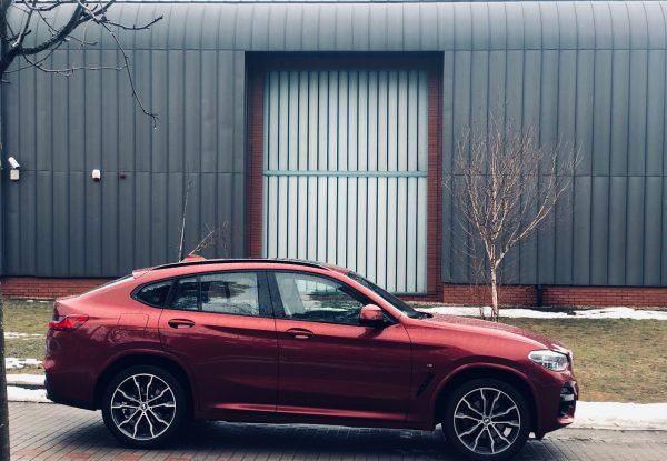 Weekend z rodzinnym BMW X4. Fotorelacja